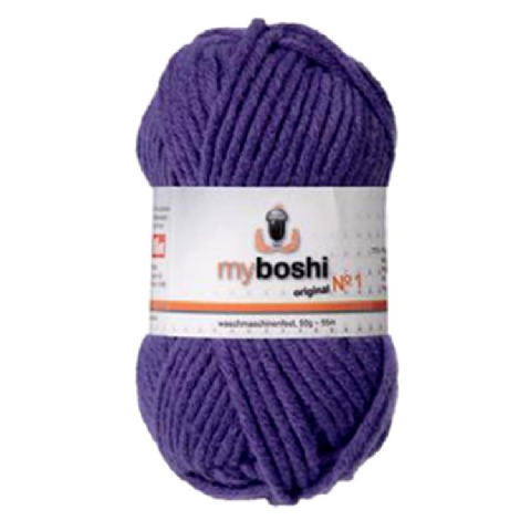 Violet 163 - Wool Balls 50g For DMC Myboshi Beanie Hats